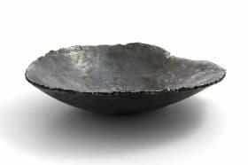 schaal van ijzer size 35 cm, Dochter van de Smid, <br /> verkocht, smeedijzeren objecten