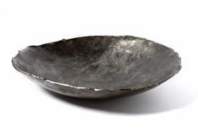 schaal ijzer, size 45 cm, verkocht. Annelied van Dijk